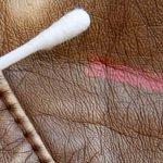 Qué hacer cuando sufrimos una mancha en artículos de piel
